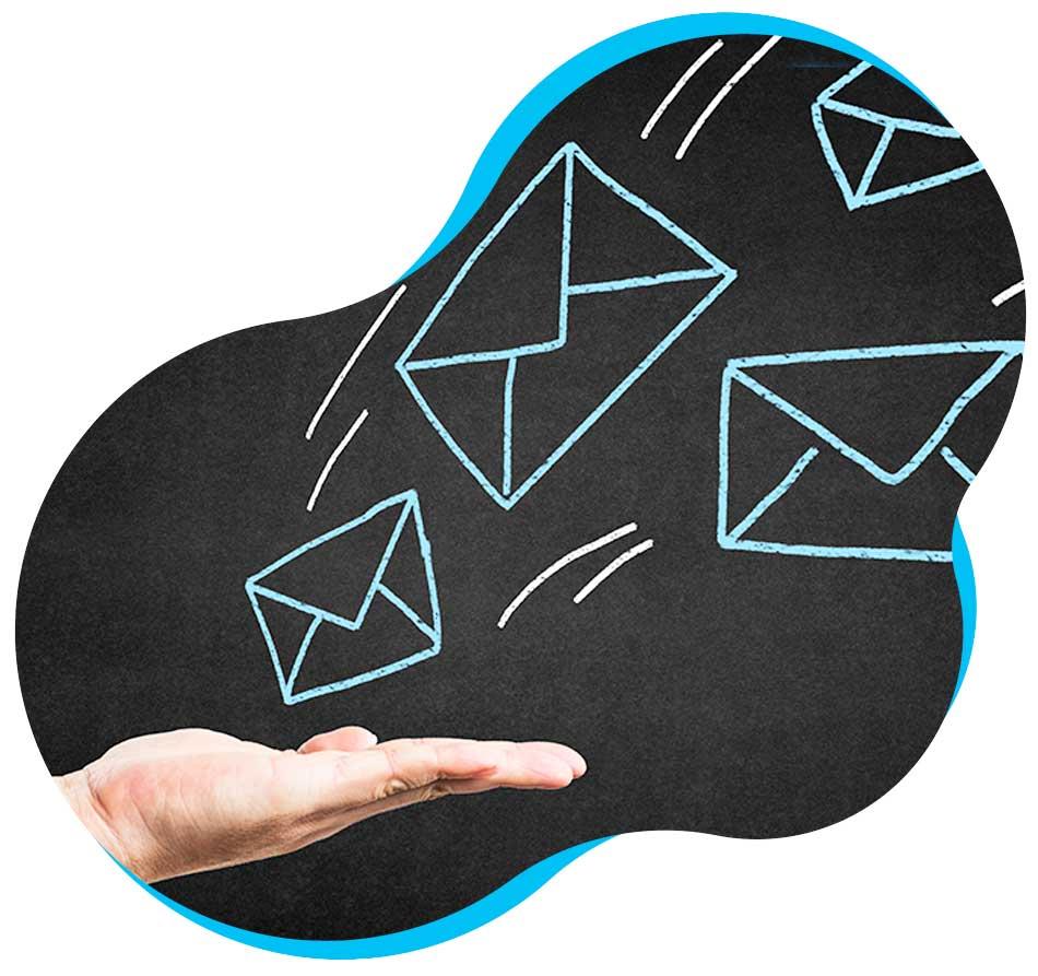 pittogrammi email di contatto