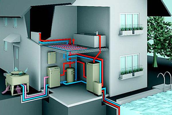 impianto elettrico pompa di calore